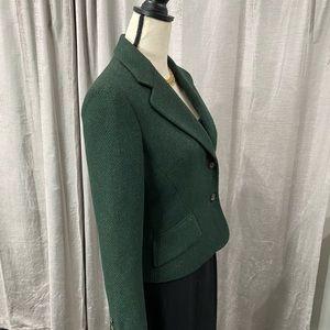 Vintage Dolce & Gabbana Hunter Green Blazer RARE!